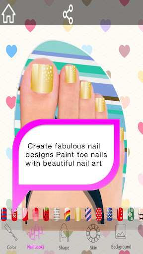 玩免費遊戲APP 下載Toe Nail Salon – Foot Spa app不用錢 硬是要APP