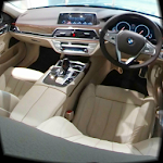 Modern Cars Interior in VR 360 Icon