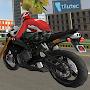 Superhero 3D Vegas City Ride - Moto Racing Fight