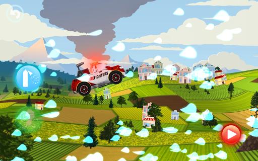 Fire Fighters Racing: Fireman Drives Fire Truck  screenshots 5