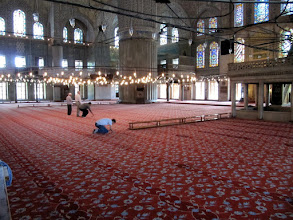 Photo: Day 110 - The Interior of the Blue Mosque
