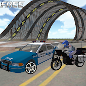 Police Bike Chase Game