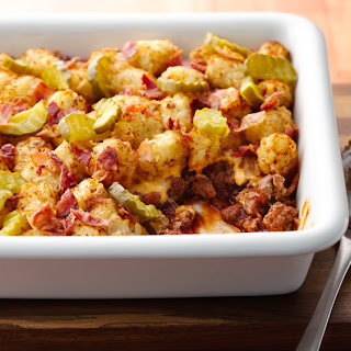 Bacon Cheeseburger Potato Casserole.