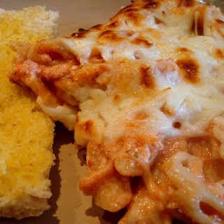 Italian Pasta Bake (Almost Baked Ziti, But Not Quite).