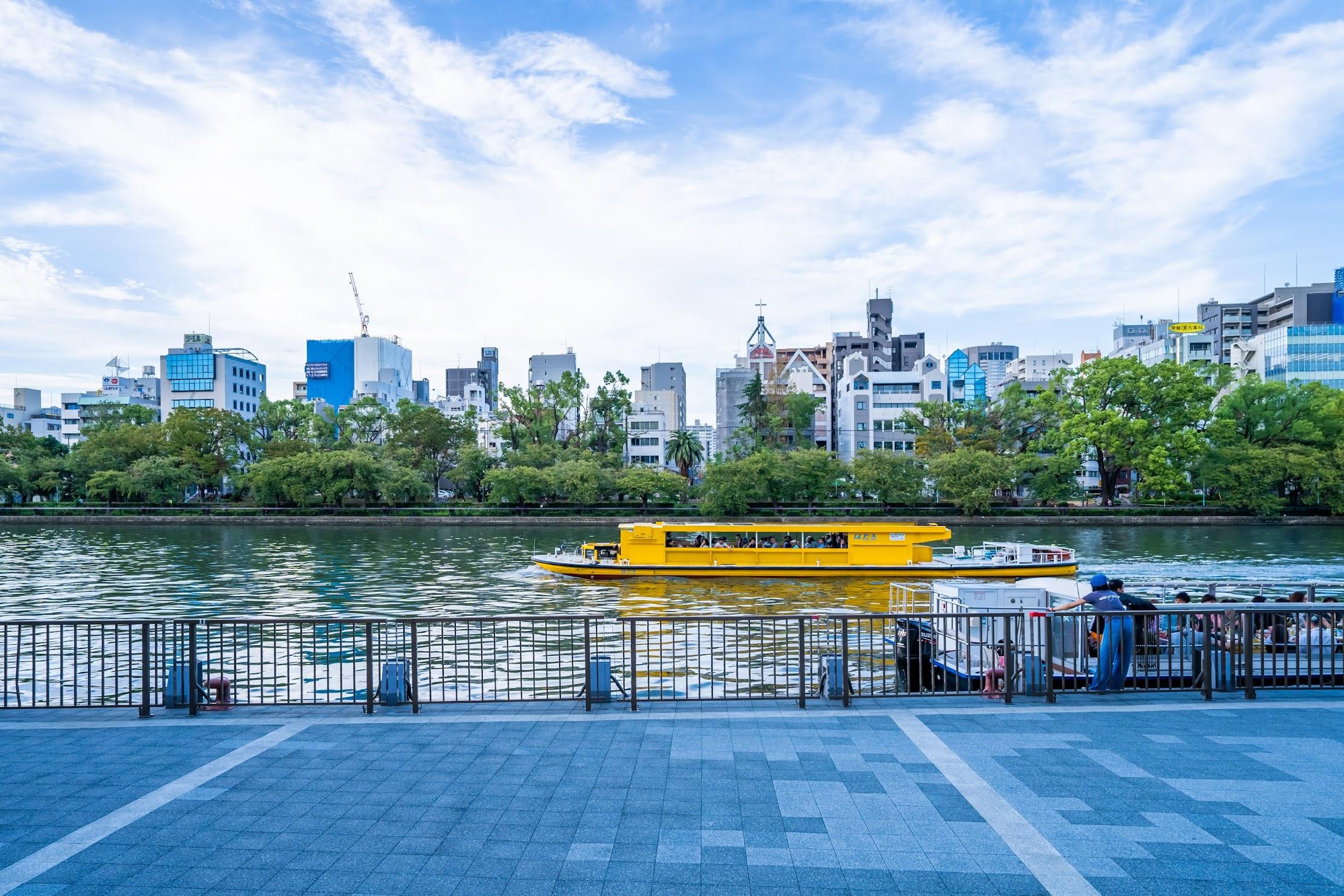 大阪 中之島 観光クルーズ 水上バス2