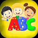 Kids ABC Learning Phonics: Free Virtual Preschool icon