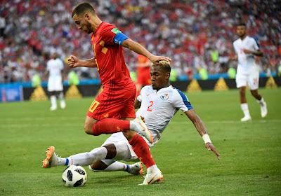 Michael Amir Murillo was op het WK de rechtstreekse tegenstander van Eden Hazard