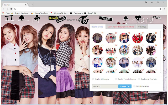 Kpop Twice HD Wallpapers New Tab Themes