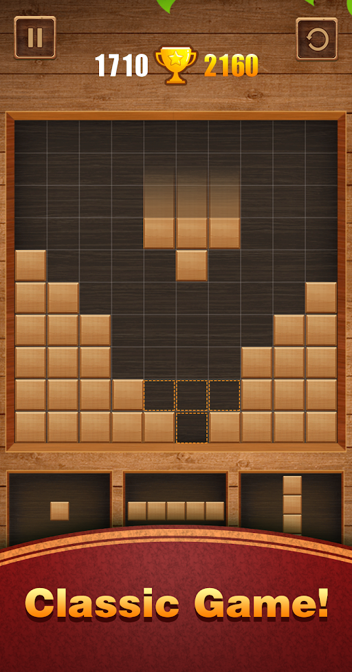 Wood Block Puzzle APK 2.4 screenshots 1