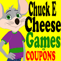 Chuckecheeses Coupons Deals & 1000's of Free Games icon