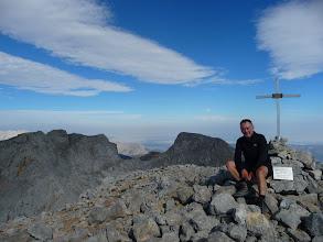 Photo: Detrás, el Pico del Jierro, desde la cima de la Silla