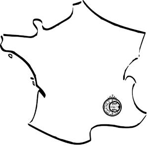 Carte du vignoble de Châteauneuf du pape