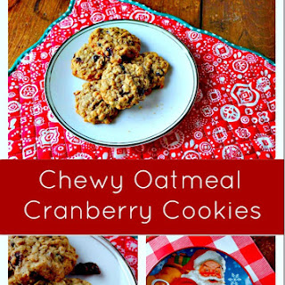 Chewy Oatmeal Cranberry Cookie