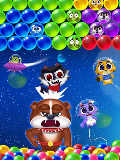 Space Cats Pop - Kitty Bubble Pop Games apktram screenshots 9