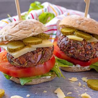 Hidden Vegetable Beef Burgers.