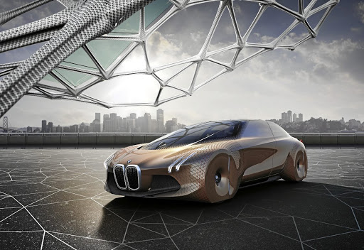 BMW's iNext, due in 2021, is expected to take its styling cues from the Vision Next concept.   Picture: NEWSPRESS UK
