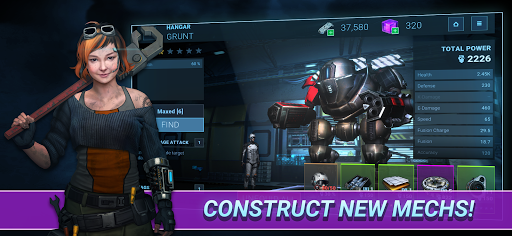 Fusion Guards: AI Mech War apkmr screenshots 14