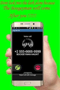 Call from Boogeyman Haunt prank - náhled