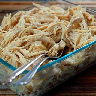 Crockpot Shredded Chicken – 1 Recipe 3 Meals
