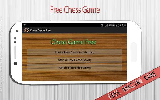 Chess game free 2015