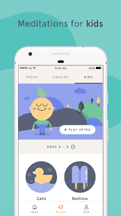 Headspace: Guided Meditation & Mindfulness – уменьшенный скриншот