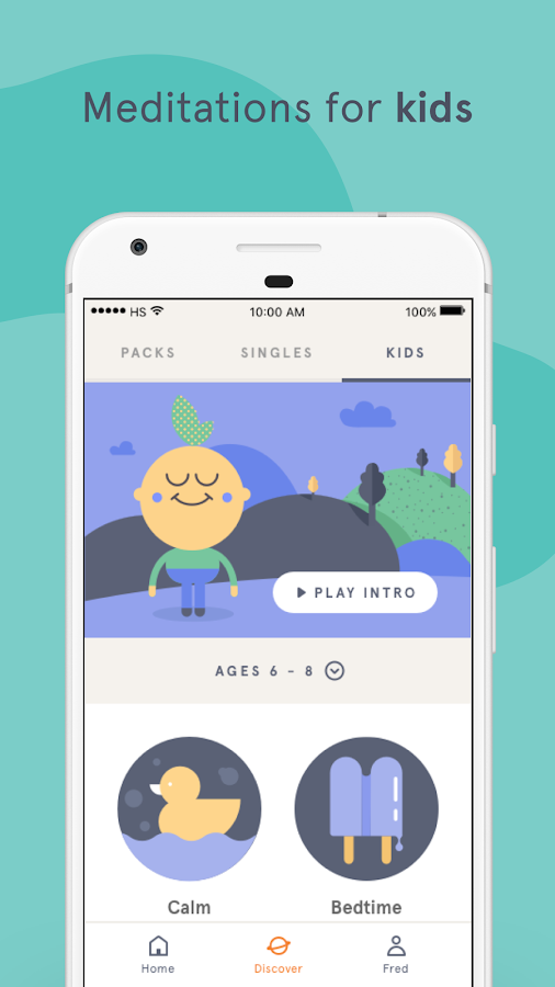 Headspace: Guided Meditation & Mindfulness – скриншот