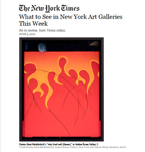 Ketuta Alexi-Meskhishvili The New York TImes