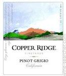 Copper Ridge Pinot Grigio