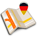 Map of Frankfurt am Main offline icon