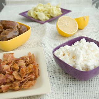 Salty-sweet Pasta Salad with Bacon and Dates