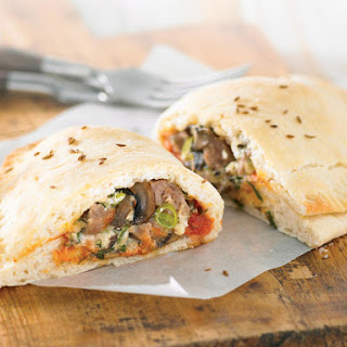 Sausage and Ricotta Calzone