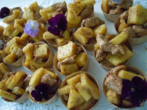 Photo: poulet ananas aux 5 épices