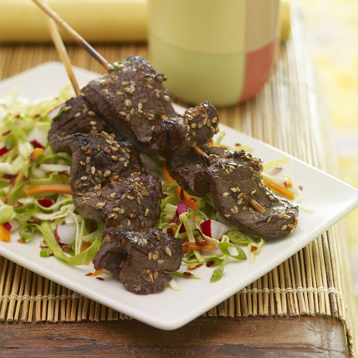 Korean-Grilled Beef Skewers Recipe