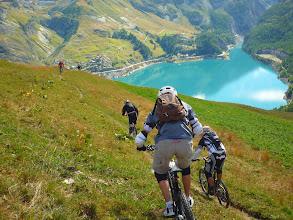 Photo: Ride au-dessu du lac du Chevril