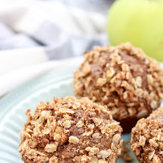 Whole Wheat Cinnamon Apple Muffins