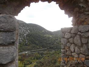 Photo: Fenêtre au Castell Sabarda