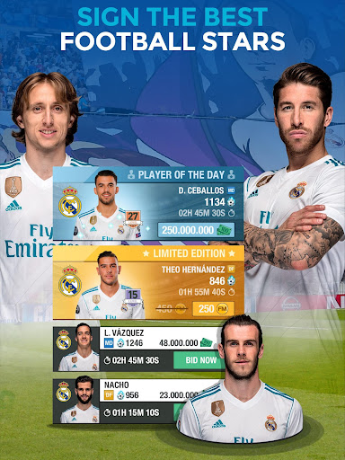 Real Madrid Fantasy Manager'18- Real football live 7.30.004 screenshots 13