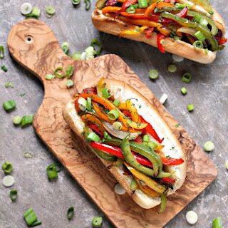Fajita Hot Dogs
