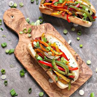 Fajita Hot Dogs.