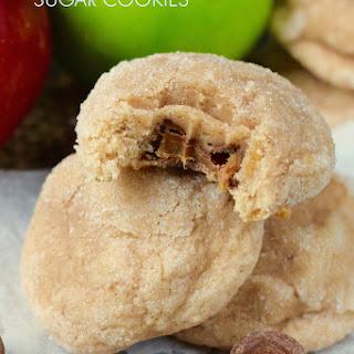Caramel Apple Sugar Cookies