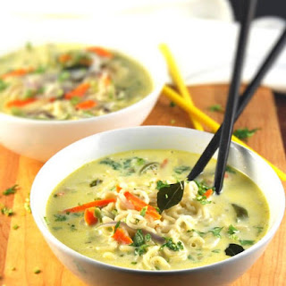 Ramen in a South Indian Coconut Stew
