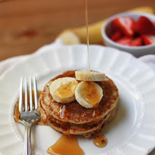 Banana Oatmeal Pancakes (GF, Dairy Free)