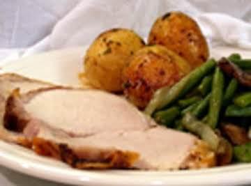 Herb Roasted Pork Tenderloin and Potatoes