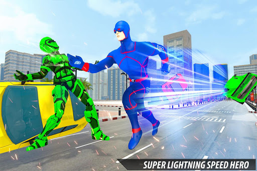 Grand Light Speed Robot Hero City Rescue Mission 1.1 screenshots 5
