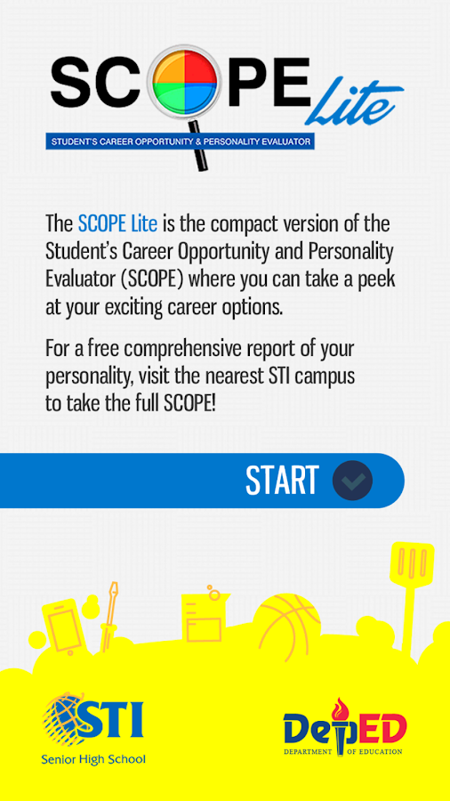 STI Senior High SCOPE Lite- screenshot