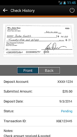 android Elevations Credit Union Mobile Screenshot 4