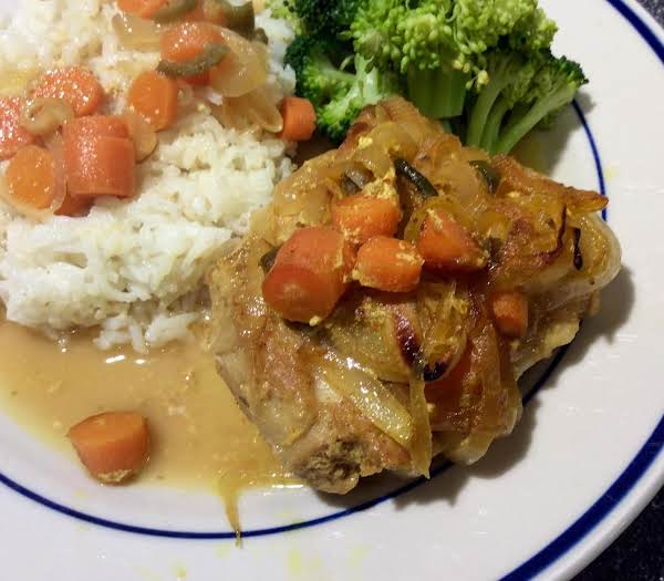 Indian Chicken With Yogurt Sauce Recipe