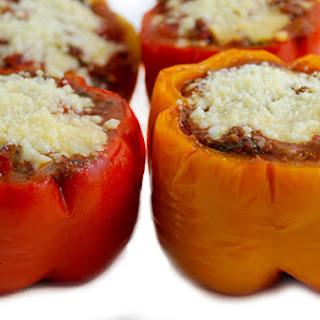 Italian Style Stuffed Peppers.