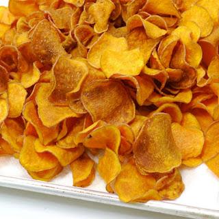 The Best Homemade Sweet Potato Chips.