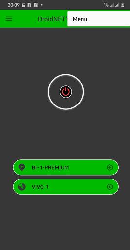 DroidNET VPN FREE 1.4.5 screenshots 1